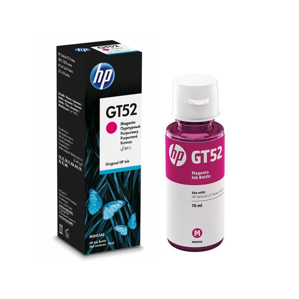 7d7eeaddbb6 Garrafa de Tinta HP M0H55AL HP GT52 Magenta 70ml - mservice